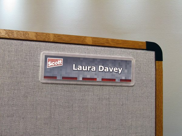 Cubicle Signs Workstation Signs Pod Nameplates