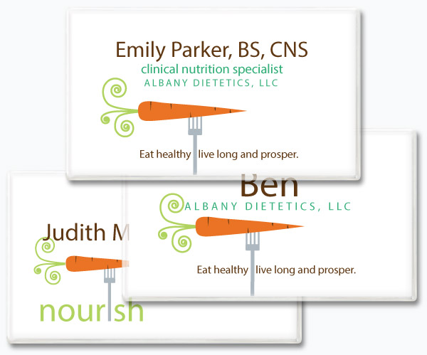 Magnetic Name Tags Print Your Own Magnetic Name Tags