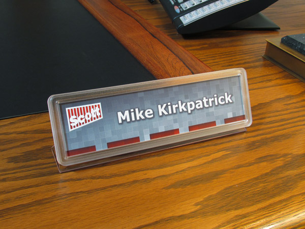 make your own desk name plates changeable desk signs