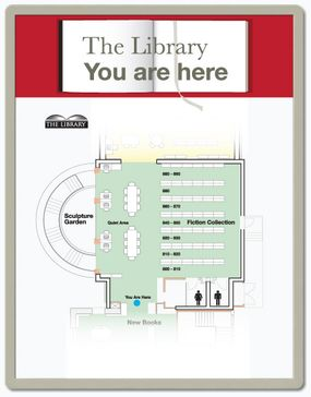 You-Are-Here floor plan signs you are here floor plan signs